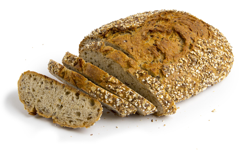 Bild eines körnigen Brotes
