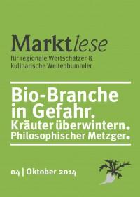 Marktlese-Cover Oktober 2014