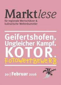 Geifershofen. Ungleicher Kampf. Kotor. Fotowettbewerb.