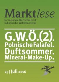 G.W.Ö.(2). Polnische Falafel. Duftsommer. Mineral-Make-Up.