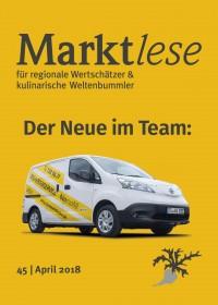 Der Neue im Team: Der Marktladen liefert jetzt per E-Mobil