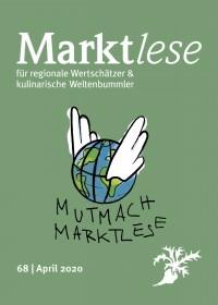 """Cover der Marktlese 04/2020: """"Mutmach-Marktlese"""""""