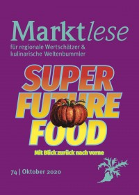 "Cover der Marktlese 10/2020 ""SUPER FUTURE FOOD"""