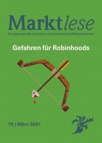 """Cover der Marktlese 03/2021 """"Gefahren für Robinhoods"""""""