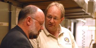 Heiner Beck erklärt Produktneuheiten