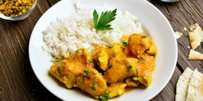 Mais-Karotten-Curry