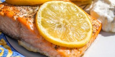 Lauch-Orangengemüse mit Fischfilet