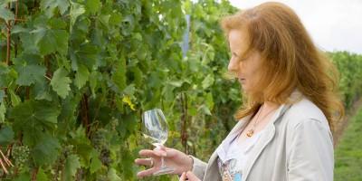 Sybille Haug vom Weingut Hirth