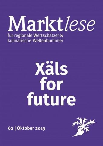 "Cover der Marktlese 62: ""Xäls for future""."