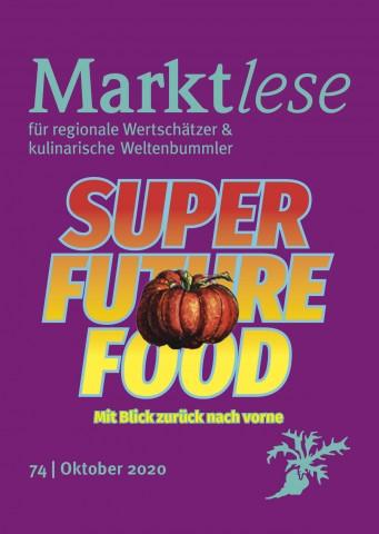 "Cover der Marktlese 10/2020 ""SUPER FUTURE FOOD"""