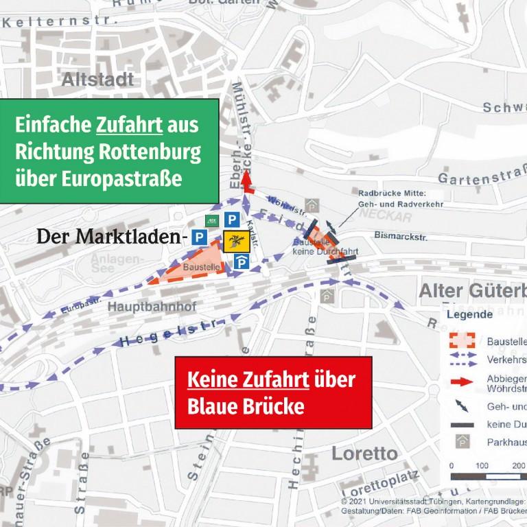 Europaplatz: Neue Verkehrsführung ab September 2021