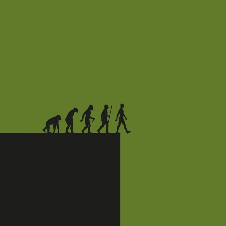 Menschheit am Abgrund.